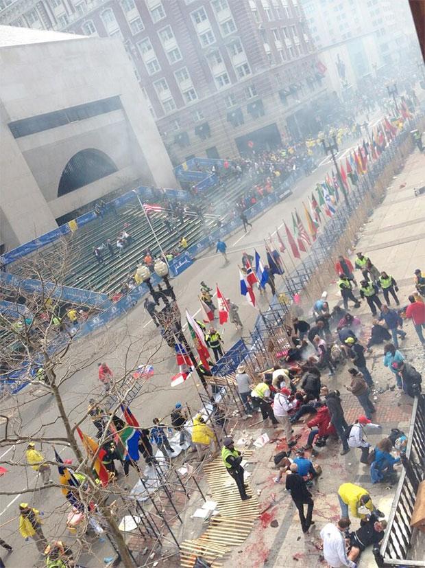 False Flag Terror Bombing at Boston Marathon…