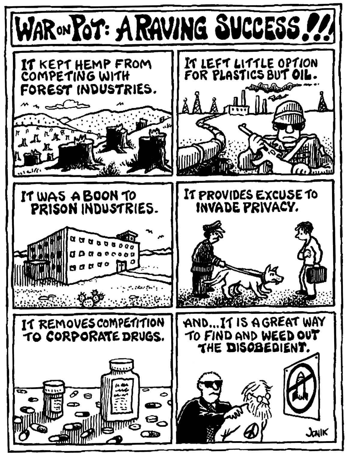 The War on Marijuana Explained