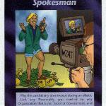 celebrity spokesman