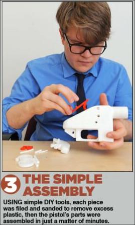UK Newspaper Creates Illegal 3D Gun & No Lawsuit