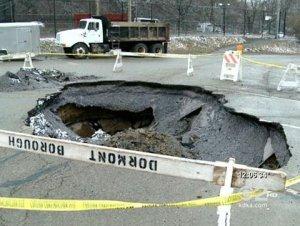 Three underground concrete structures found in Pittsburgh