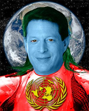 Does Al Gore Think He's Captain Planet?
