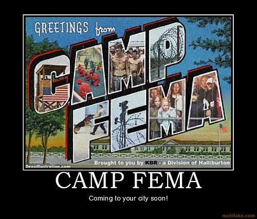 Comprehensive List Of FEMA Camps Revealed