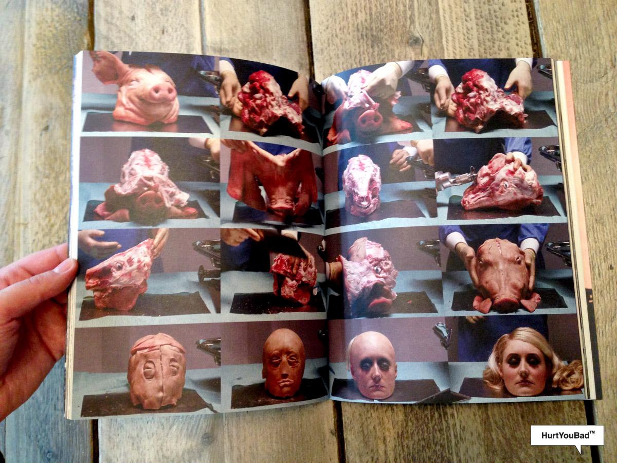 Plastic surgeon transforms a pig's head into Paris Hilton
