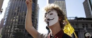 Occupy Protestor