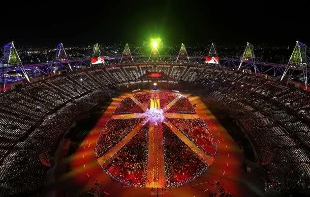 Illuminati Occult Symbolism in London's Olympic Closing Ceremony